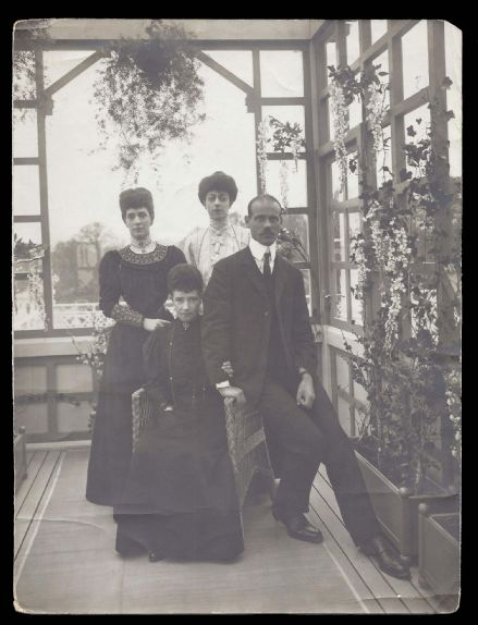 Dowager Empress Marie Grand Duke Michael Queen Alexandra Princess Victoria Denmark Rare Private Phot